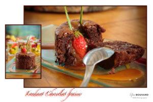 Photographie Chocolat fondant